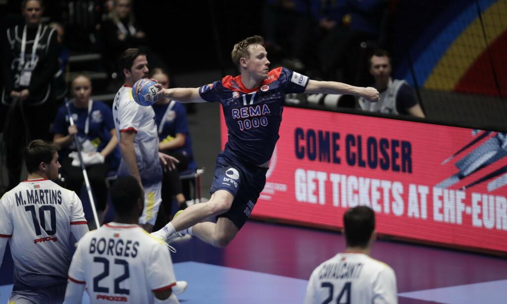 TOPPSCORER: Magnus Jøndal ble Norges toppscorer med sju mål mot Portugal. Foto: Vidar Ruud / NTB scanpix