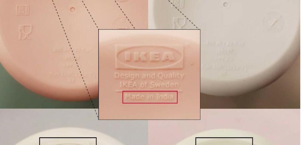 Ikea tilbakekaller krus med for høyt kjemikalienivå
