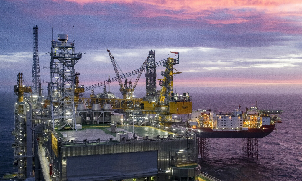 BIDRO STERKT: Johan Sverdrup er det tredje største oljefeltet på norsk sokkel, med forventede ressurser på 2,7 milliarder fat oljeekvivalenter. Foto: Carina Johansen / NTB scanpix