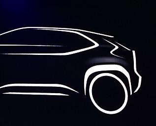 Liten SUV fra Toyota