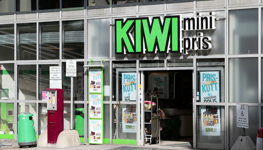 Kiwi regner med å åpne 20 nye butikker i løpet av året. Foto: Lise Åserud / NTB scanpix