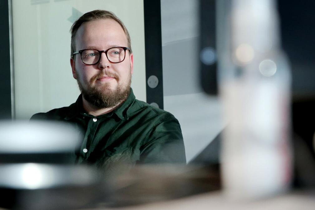 I kode24-timen forteller Kristofer Giltvedt Selbekk deg det viktigste du bør lære deg i React i 2020. 📸: Ole Petter Baugerød Stokke