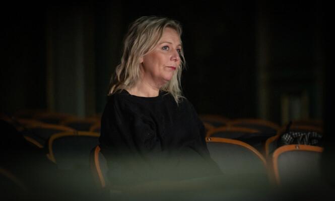 <strong>VILLE IKKE BLI VOKSEN:</strong> - Jeg har alltid likt barnet Linn, sier Skåber til KK. FOTO: Lars Opstad