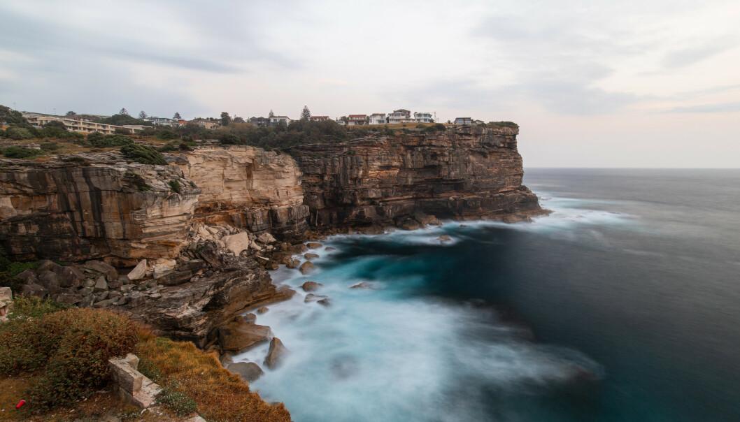 <strong>DIAMOND BAY:</strong> Klippene ved Diamond Bay i Australia er et kjent turiststed, hvor mange reiser for å ta bilder. Foto: Shutterstock