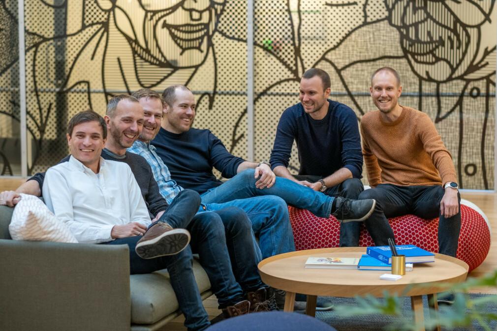 Kodemaker-kodere Eivind B. Waaler, Stian Cornelis Alsos, Fredrik Aubert, Anders Furseth, Sindre Grønningen og Frode Nerbråten har oppsummert 2019, og spår litt om 2020. 📸: Kodemaker