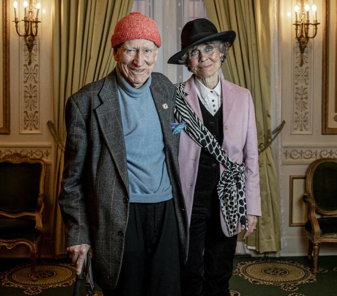 GIFT: Olav Thon og Sissel Berdal Haga Thon har holdt sammen i over 30 år. Paret giftet seg i juni i fjor. Foto: Bjørn Langsem / Dagbladet