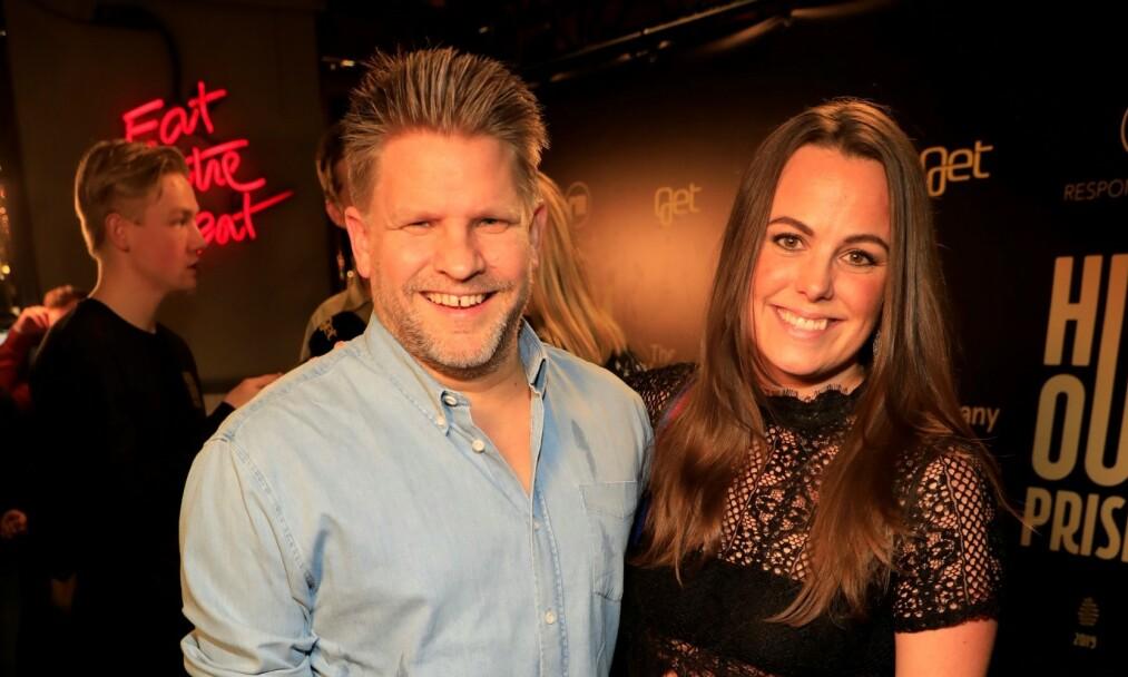 <strong>NOMINERT:</strong> Håvard Lilleheie og Randi Liodden kom sammen. Sistnevnte var nominert til pris for årets morsomste på internett. Foto: Tor Lindseth / Se og Hør