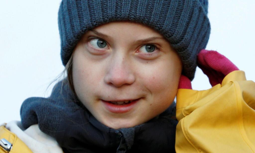 ADVARER: Greta Thunberg advarer eliten som ankommer Davos om at de ikke har sett hva som vil komme. Foto: NTB Scanpix
