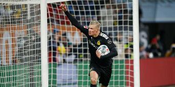 image: Haaland scoret hat trick i debuten: - Hva er det som skjer?