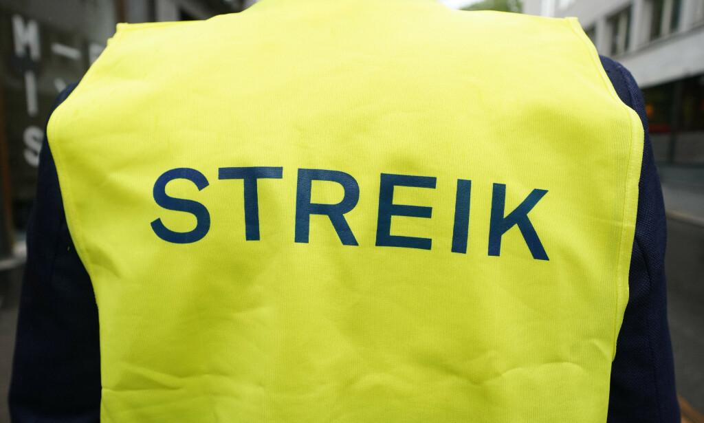 VIL HA MER: Etter rekordhøye utbytter og økende forskjeller, snakkes det nå høyt om streik i LO. Foto: Fredrik Hagen / NTB scanpix