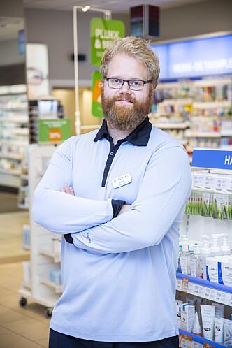 <strong>FAGREDAKTØR:</strong> Eirik Rustan i Apotek 1.