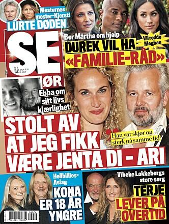 ÅPENHJERTIG: I tirsdagens Se og Hør står minnetalen til Ebba Rysst Heilmann på trykk. Foto: Faksimile fra Se og Hør