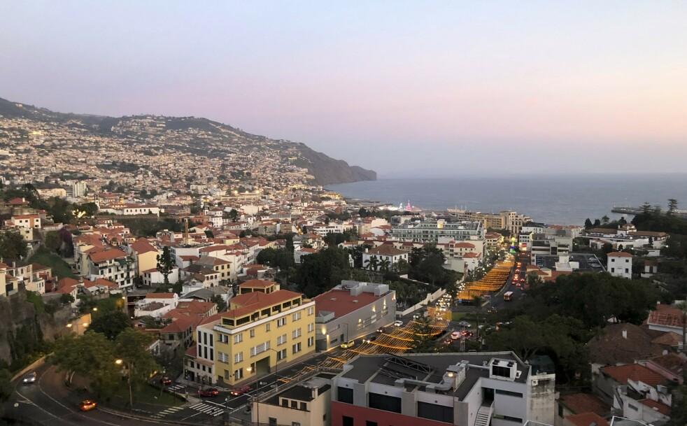 <strong>REISE:</strong> Funchal er den største byen på Madeira. FOTO: Dorthe Kandi