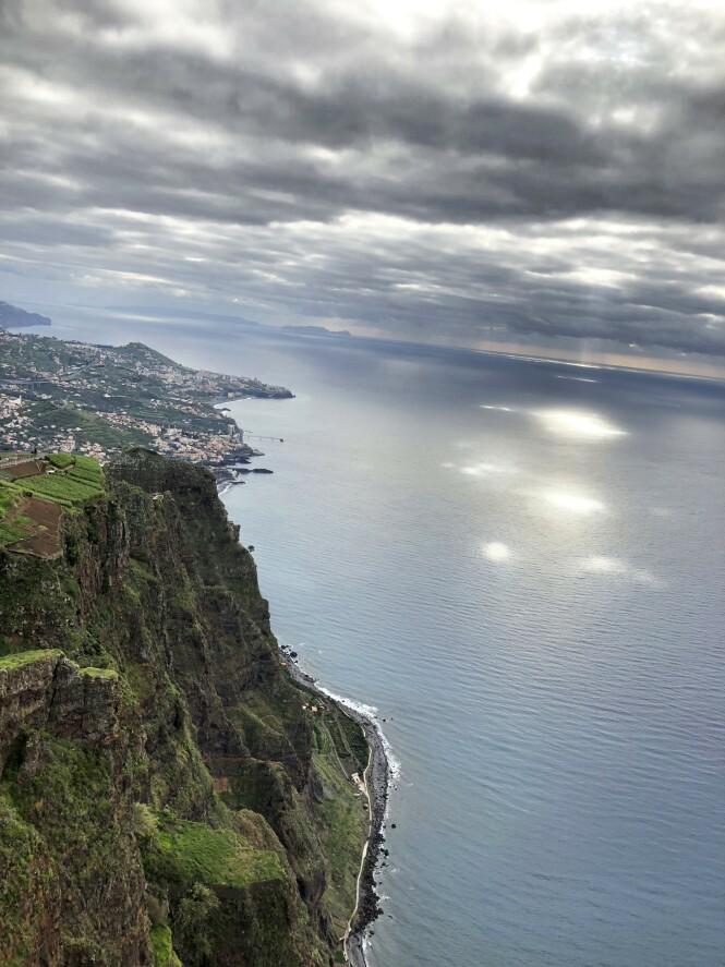 Utsikten fra Encumeada, vel 1000 meter over havet, er rett og slett fabelaktig. FOTO: Dorthe Kandi