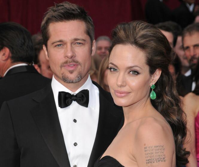 OFFENTLIG SKILSMISSE: Brad og Angelina i 2009. Paret var gift i to år før det i 2016 endte i en offentlig skilsmisse. Foto: NTB Scanpix