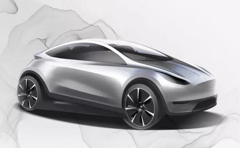 Kan ha avslørt ny Tesla
