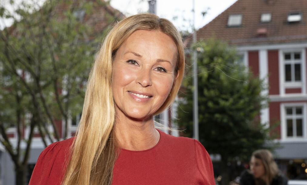 <strong>OPERERT:</strong> Dorthe Skappel kunne tirsdag fortelle at hun nylig har blitt operert. Foto: Andreas Fadum / Se og Hør