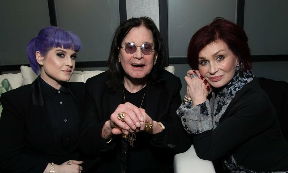 SYK: Ozzy Osbourne (71) forteller at han har fått diagnosen Parkinson. Foto: NTB scanpix