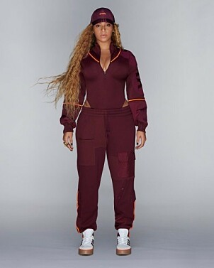 NY KOLLEKSJON: Beyoncés nye kolleksjon, som er et samarbeid med Adidas, vekker oppmerksonhet. Foto: ivypark.com
