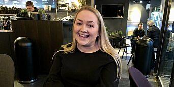 image: Christine (22) kan bli historisk