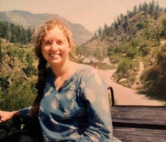 SKARP KONTRAST: Etter åtte år i India vendte Jannicke tilbake til Norge. Overgangen fra det rolige livet i India til travelheten i Oslo skulle imidlertid vise seg å ikke være helt enkel. FOTO: Privat