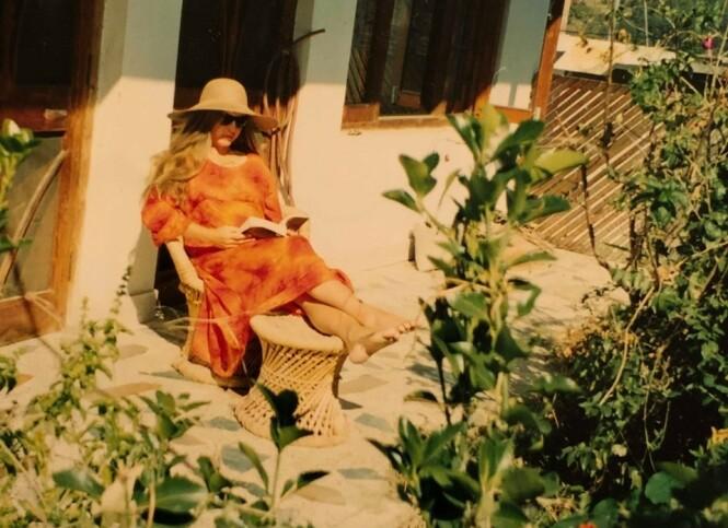 SPARTANSK LIV: Jannicke leide et lite hus like ved meditasjonssenteret. FOTO: Privat