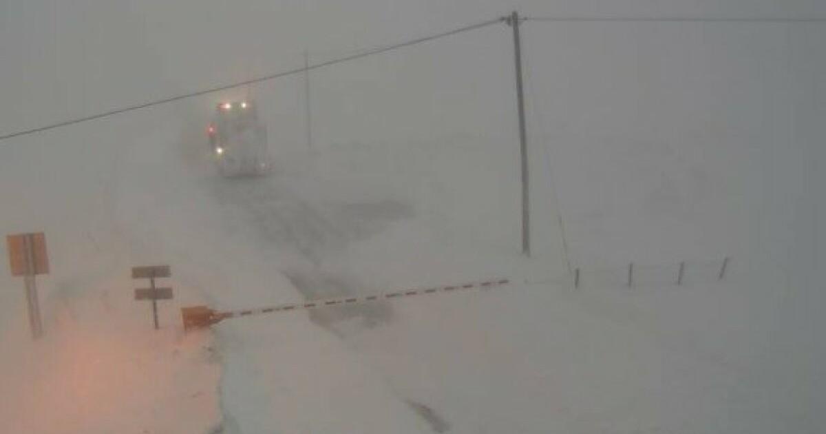 Uvær i Finnmark - bygder isolert