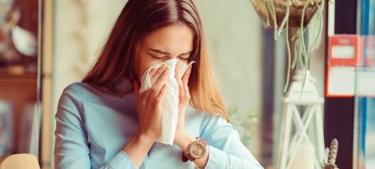 - Mange går med pollenallergi i flere år uten å vite det