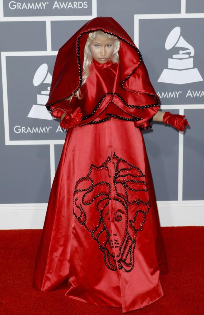 2012: Nicki Minaj. Foto: NTB Scanpix