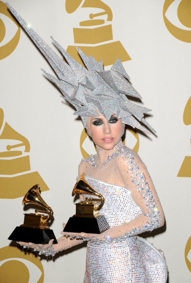 2010: Lady Gaga. Foto: NTB Scanpix