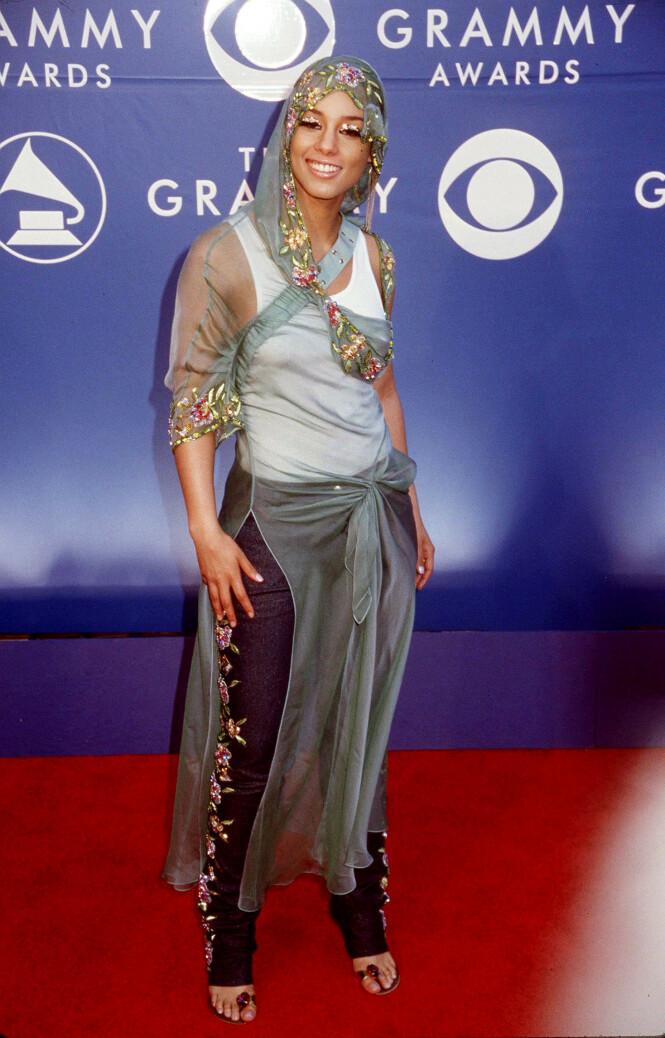 2002: Alicia Keys. Foto: NTB Scanpix