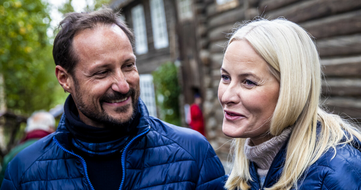 Kronprins Haakon og kronprinsesse Mette-Marit: