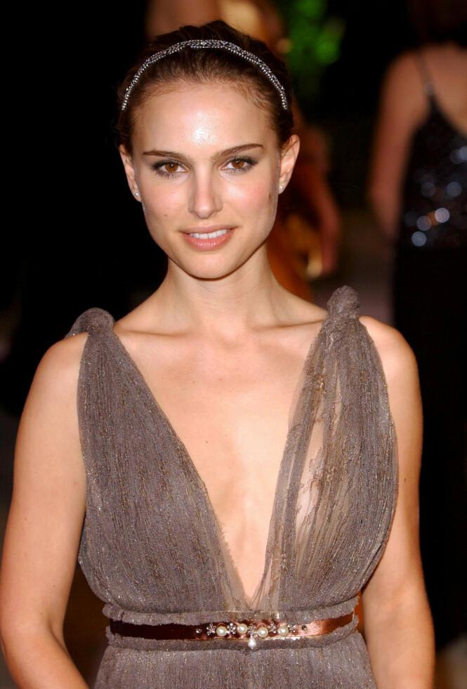 2005: Natalie Portman. Foto: NTB Scanpix