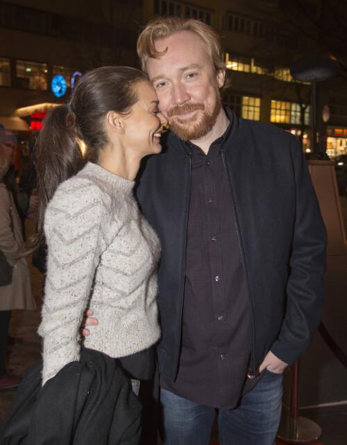 EKTEPAR: Agnes Kittelsen og Lars Winnerbäck. Foto: Tore Skaar / Se og Hør