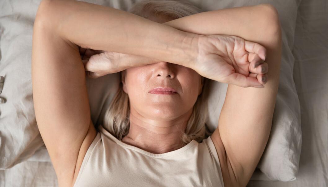PLAGER I OVERGANGSALDEREN: Mange kvinner opplever hetetokter og tørre slimhinner i overgangsalderen.