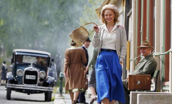 STJERNE: Agnes Kittelsen er en av Norges mest populære skuespillere, både i film og på scenen. Her er hun avbildet under innspillingen av filmen «Kon-Tiki» i 2011. Foto: NTB Scanpix