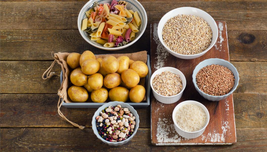 MÅLTID: Hvert måltid bør være sammensatt av ulike matvarer med næringsinnhold fra karbohydrater, fett og protein. FOTO: NTB Scanpix