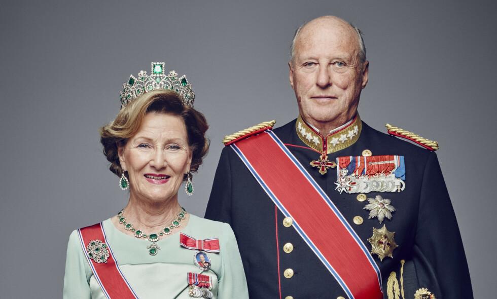 FRISKMELDT: Kong Harald har vært sykmeldt de siste to ukene. Fredag holder han Statsråd igjen. Foto: Jørgen Gomnæs / Det kongelige hoff