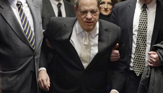 Den tidligere filmmogulen Harvey Weinstein risikerer livsvarig fengsel dersom han blir funnet skyldig i tiltalen. Foto: AP / NTB scanpix