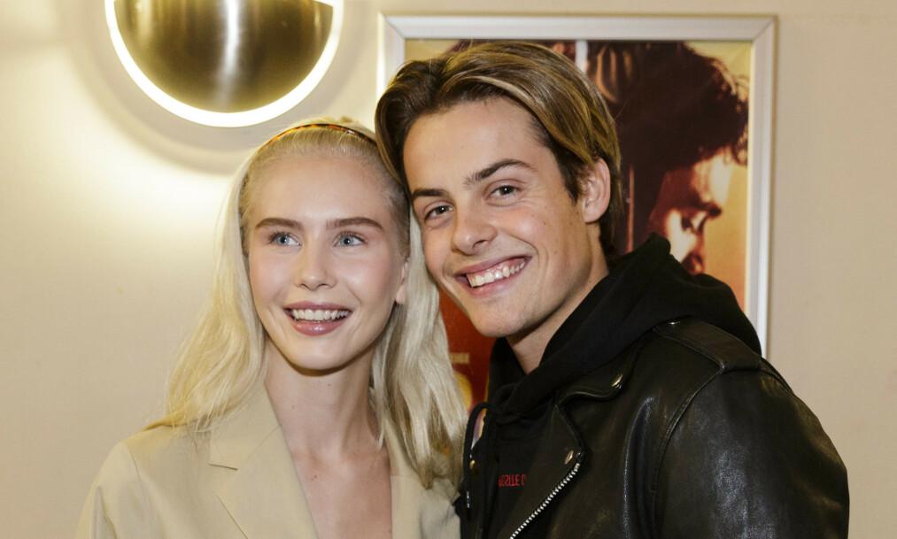 BRUDD: Amalie Snøløs og Herman Tømmeraas er ikke lenger et par. Foto: NTB Scanpix