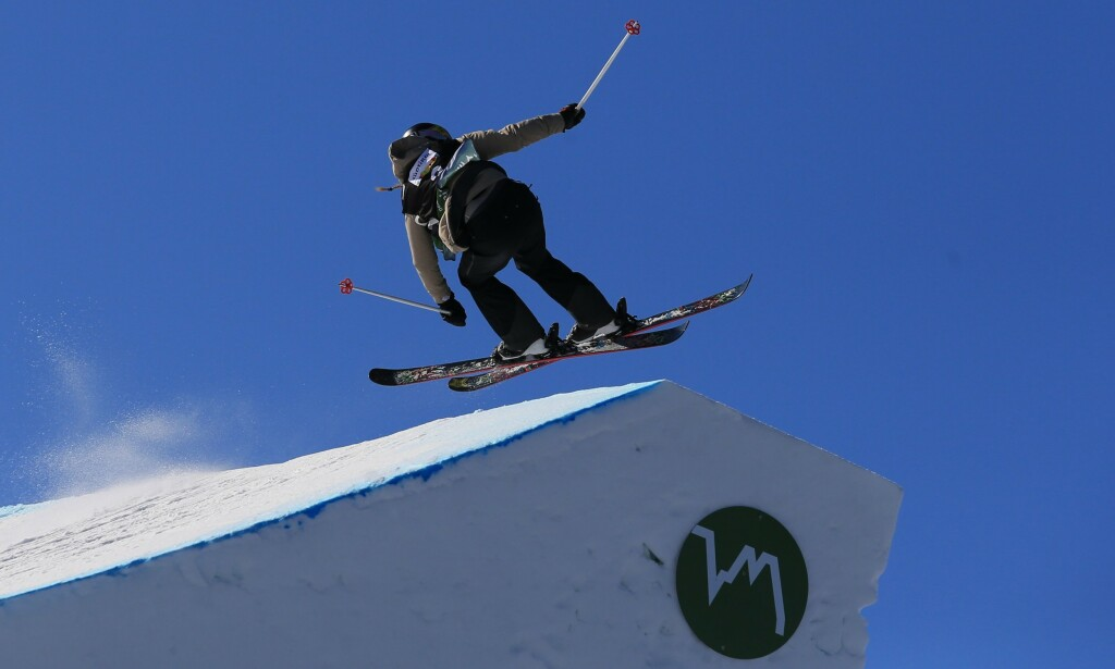 FALL: Johanne Killi mister X-Games. Foto: NTB Scanpix