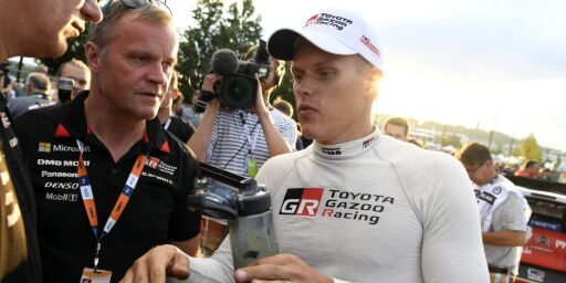 image: Stygg krasj i Rally Monte-Carlo
