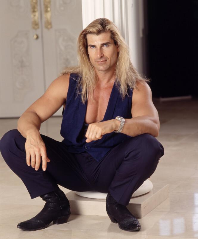 ADONIS : Den blåøyde italieneren Fabio var hele verdens førsteelsker. Til han møtte en gås. FOTO: NTB Scanpix