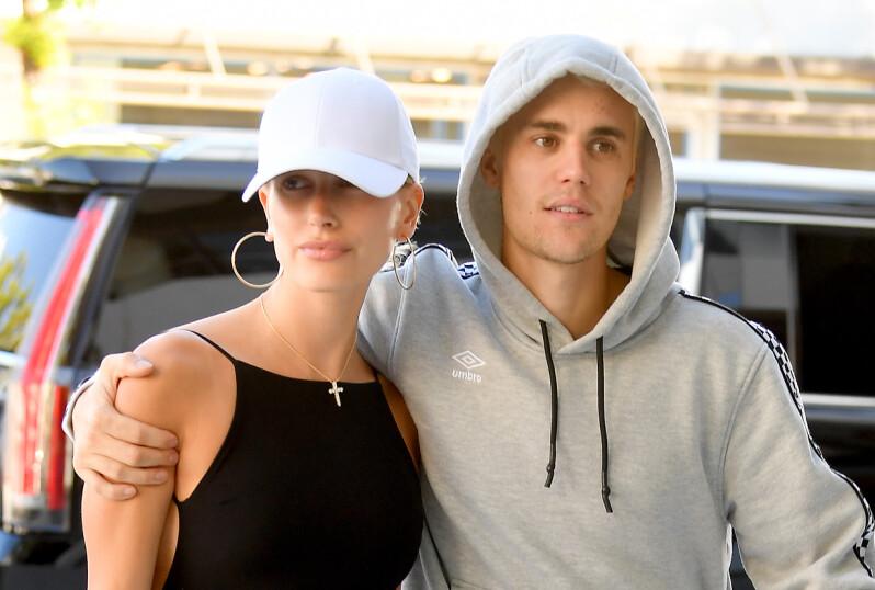 GODT GIFT: Justin og Hailey Bieber giftet seg i 2018. Foto: NTB Scanpix