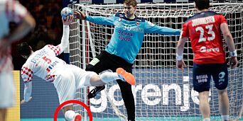 image: Kroatia vant på «ulovlig» straffe