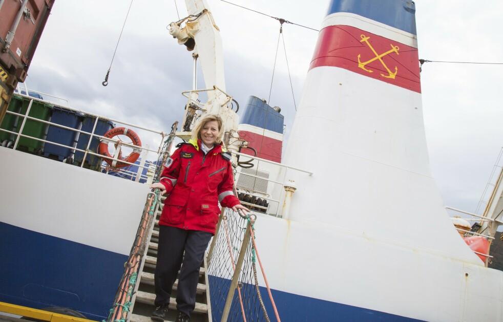 <strong>Sveitsiske Margrith Ettlin (50) hadde en drøm:</strong> «En dag skal jeg bli los i Norge». Foto: Siv-Elin Nærø
