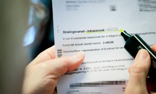image: Vil kutte inkasso-gebyrene med to milliarder kroner