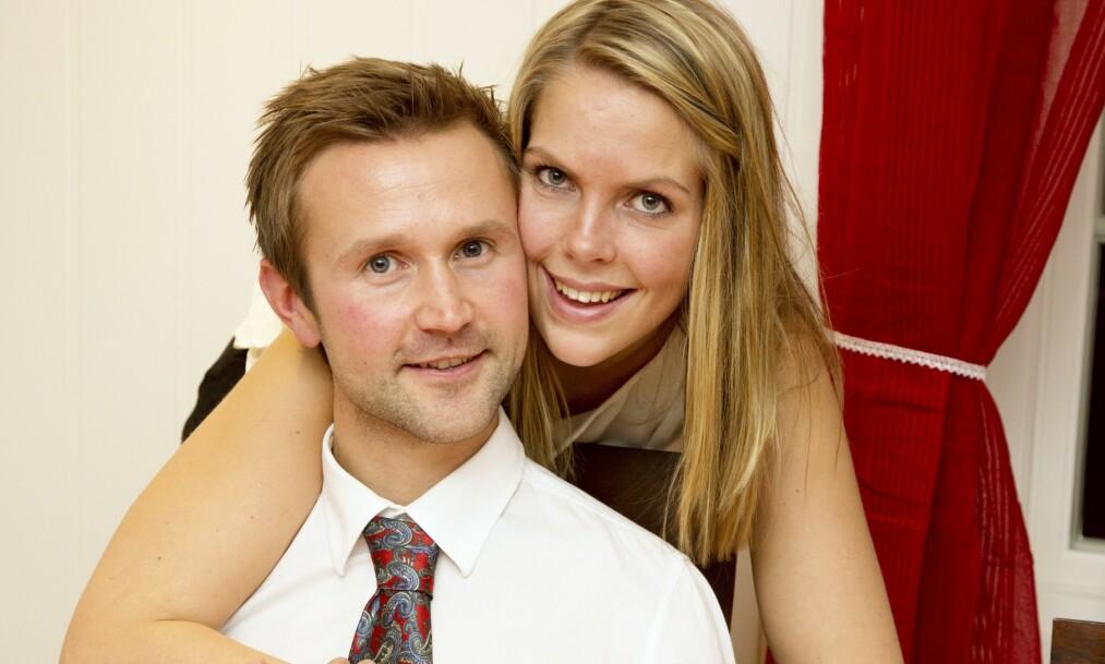 BRUDD: Øyvind Leine Thune og Elise Edvardsen fant hverandre på tv i 2013. Nå har de gått hver til sitt. Foto: Morten Eik / Se og Hør