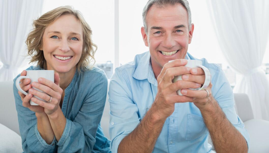 Var dere like da dere møttes, eller er dere blitt likere med årene? Eller er det kanskje både og? Foto: NTB Scanpix