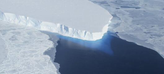 Dommedags-isbreen smelter